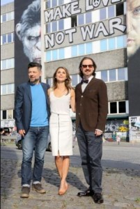 19.07 2014 BerlinPhotocall zu Planet der Affen-Revolution Dawn of the Planet of the Apes in Berlinwith Andy Serkis , Keri Russell and Matt Reeves