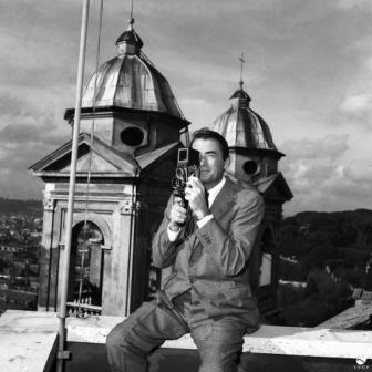 Gregory Peck a Roma - 1959