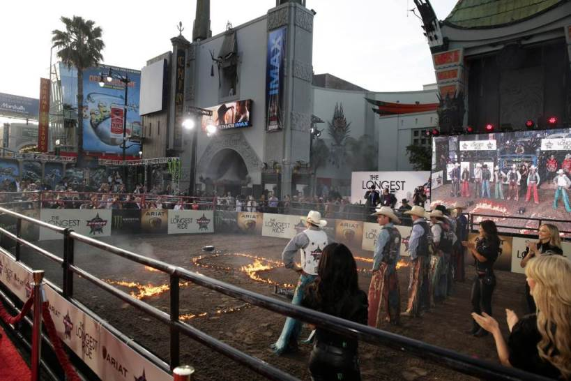 "A general view of atmosphere seen at the Twentieth Century Fox Premiere of ""The Longest Ride"" held at TCL Chinese Theatre on Monday, April 6, 2015, in Hollywood. (Photo by Eric Charbonneau/Invision for Twentieth Century Fox/AP Images)"