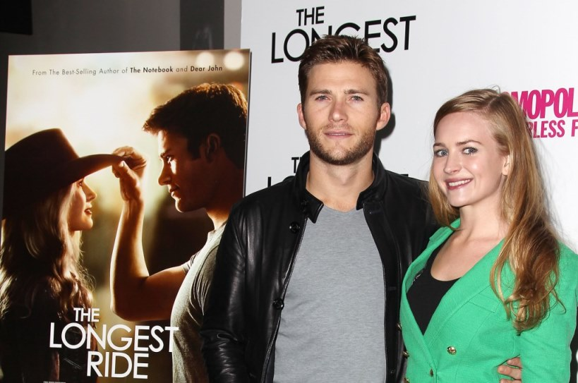 Scott Eastwood and Britt Robertson