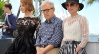 photocall Irrational Man  emma stone, parker posley, woody allen