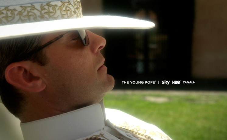 THE YOUNG POPE - PRIMA IMMAGINE UFFICIALE - Copyright Sky, HBO, Wildside...