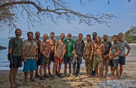 contadora, tv show, uk, shine tv, bear grylls