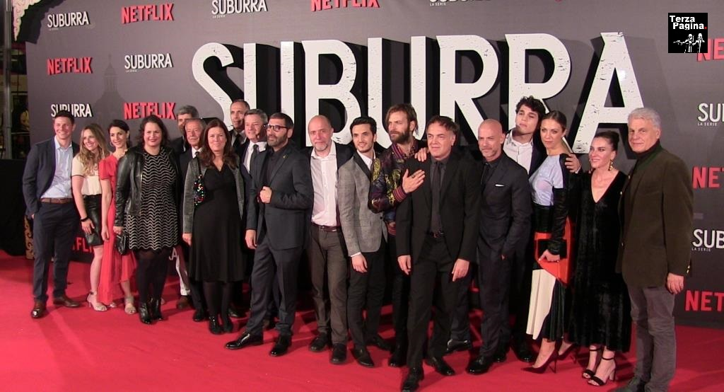 suburra la serie cast all