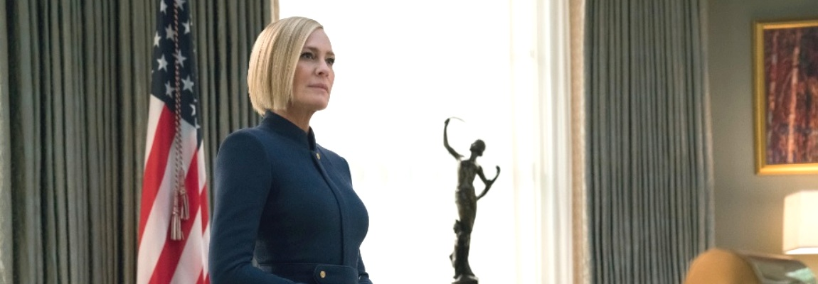 Robin Wright è Claire Underwood