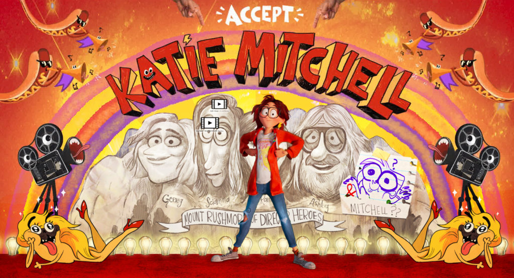 "THE MITCHELLS VS. THE MACHINES - Abbi Jacobson as ""Katie Mitchell"". Cr: ©2021 SPAI. All Rights Reserved."